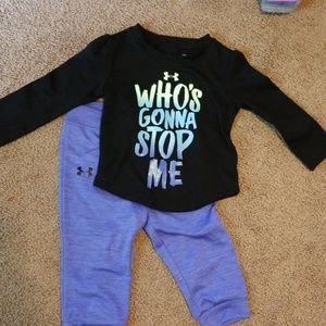 Baby girl Under Armour outfit